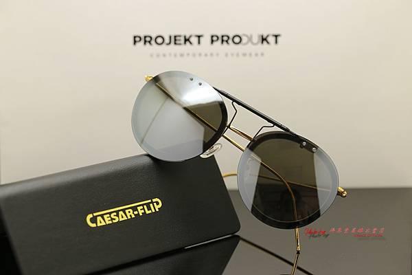 CAESAR FLIP 翻轉前掛 & PROJEKT PRODUKT GL-9 C01G 韓國時尚眼鏡 高雄得恩堂左營店