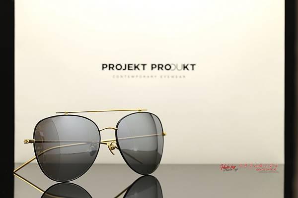 Projekt Produkt GL-8 GLD 韓國時尚太陽眼鏡 高雄得恩堂左營店