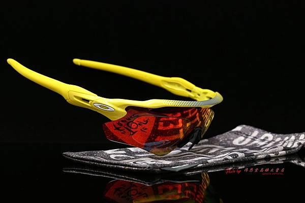 OAKLEY RADAR EV PATH 環法版運動型太陽眼鏡 & 高階SPORT彩色紅鍍膜運動型鏡片 高雄得恩堂左營店