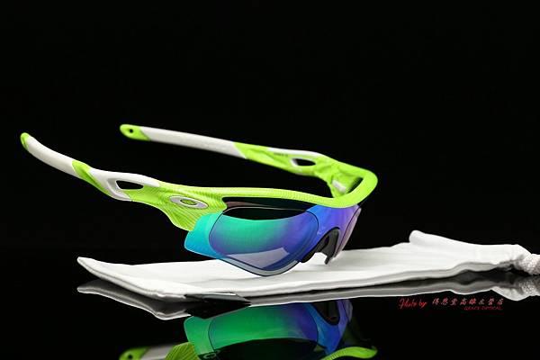 OAKLEY RADARLOCK PATH 運動太陽眼鏡 & 高階SPORT偏光彩色綠鍍膜運動版度數鏡片