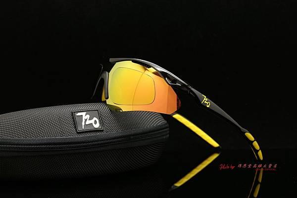 720armour Analog CRX近視有度數彩色金鍍膜偏光運動型太陽眼鏡 高雄得恩堂左營店