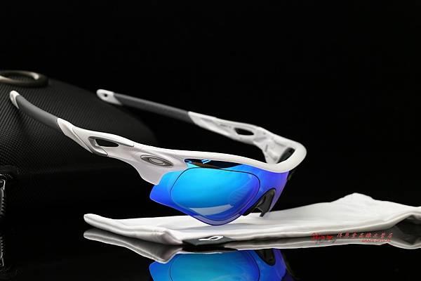 OAKLEY RADARLOCK PATH 運動太陽眼鏡 & 高階SPORT偏光彩色藍鍍膜運動版度數鏡片 高雄得恩堂左營店