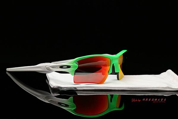 OAKLEY FLAK 2.0 XL OO9188-43 里約奧運紀念版 & 高階SPORT偏光彩色紅水銀近視有度數鏡片