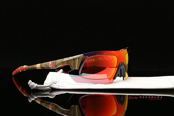 720armour KAMIKAZE 迷彩系列 CRX 近視有度數彩色紅鍍膜偏光運動型太陽眼鏡