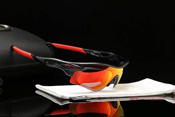 OAKLEY RADARLOCK PATH 運動太陽眼鏡 & 高階SPORT偏光彩色紅鍍膜運動版度數鏡片