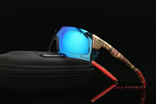 720armour KAMIKAZE 迷彩系列 CRX 近視有度數彩色藍鍍膜偏光運動型太陽眼鏡