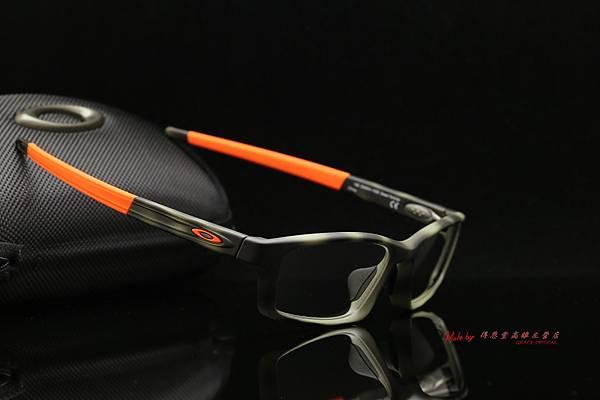 Oakley Crosslink Pitch ox8041-1456 玳瑁紋路 光學近視眼鏡