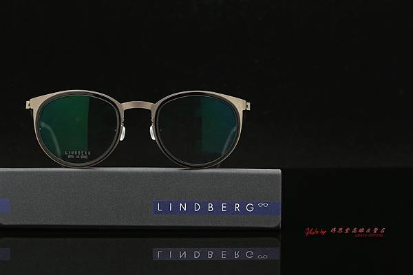 LINDBERG Strip titanium 9700 圓框 丹麥 林德柏格