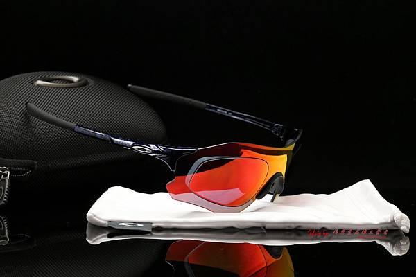 OAKLEY EVZERO PATH ASIA FIT OO9313-02 運動型太陽眼鏡 & 高階SPORT彩色紅鍍膜偏光運動型鏡片