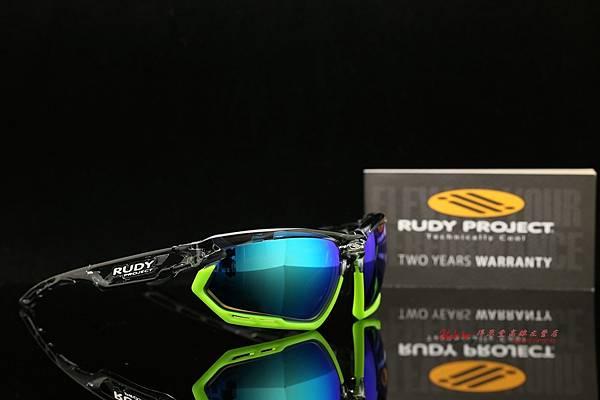 Rudy Project FOTONYK & 高階SPORT偏光彩色藍鍍膜有度數近視鏡片 運動型太陽眼鏡