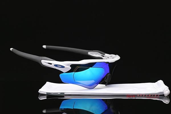 OAKLEY RADAR EV PATH 運動型太陽眼鏡 & 高階SPORT彩色藍鍍膜偏光運動型鏡片