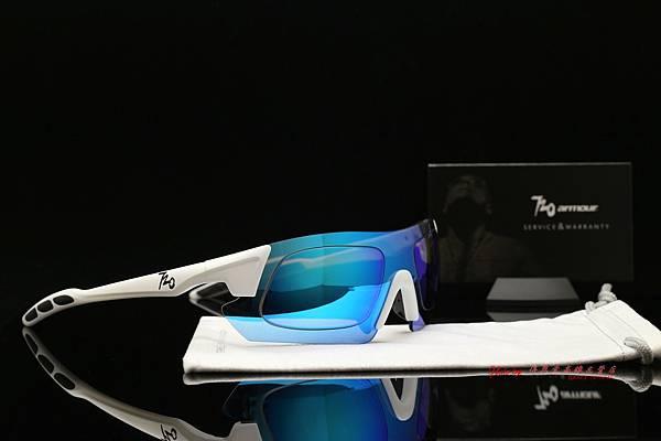 720armour KAMIKAZE CRX 近視有度數彩色藍鍍膜偏光運動型太陽眼鏡