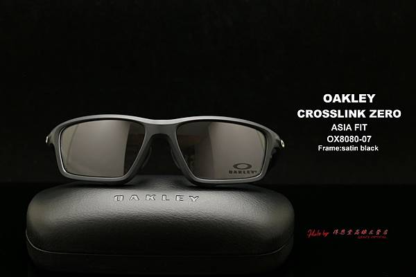 OAKLEY CROSSLINK ZERO OX8080-07 ASIA FIT 亞洲版