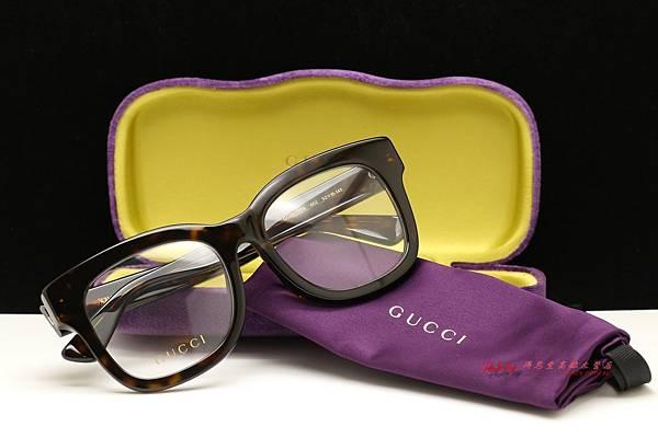 GUCCI Eyewea GG0033OA 002 光學眼鏡
