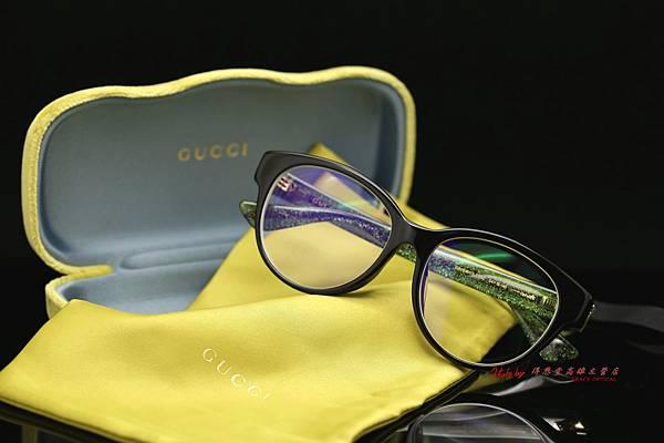 GUCCI Eyewear GG0039OA 004 光學眼鏡 高雄得恩堂左營店