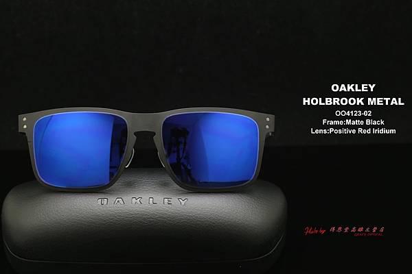 OAKLEY Holbrook Metals OO4123-0255 太陽眼鏡 高雄得恩堂左營店