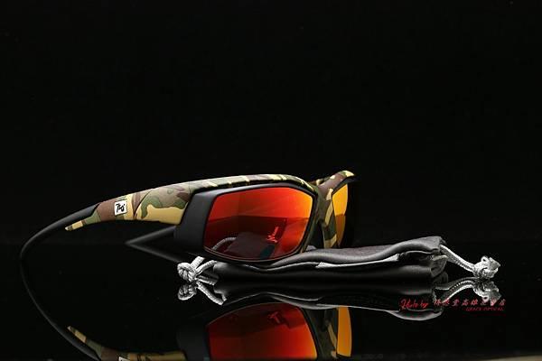 720armour Speeder RX迷彩款 CRX近視有度數彩色紅鍍膜偏光運動型太陽眼鏡 高雄得恩堂左營店