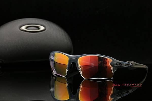 OAKLEY FLAK 2.0 XL & 高階SPORT極致完美變色紅鍍膜近視有度數運動鏡片