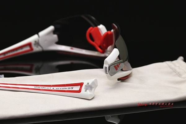 adidas eyewear EVIL EYE HALFRIM PRO L 愛迪達邪惡之眼運動型太陽眼鏡 鏡架修復實錄 高雄得恩堂左營店