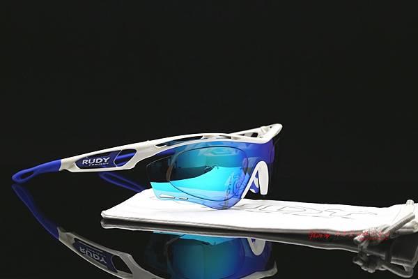 Rudy Project Tralyx 動型太陽眼鏡 & 高階SPORT偏光彩色藍鍍膜近視運動鏡片 高雄得恩堂左營店