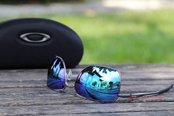 OAKLEY GAUGE 8M PRIZM SAPPHIRE POLARIZED OO4124-0662 偏光太陽眼鏡