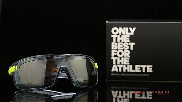 adidas eyewear Zonyk 愛迪達運動型太陽眼鏡 & 客製化SPORT偏光白水銀運動版鏡片