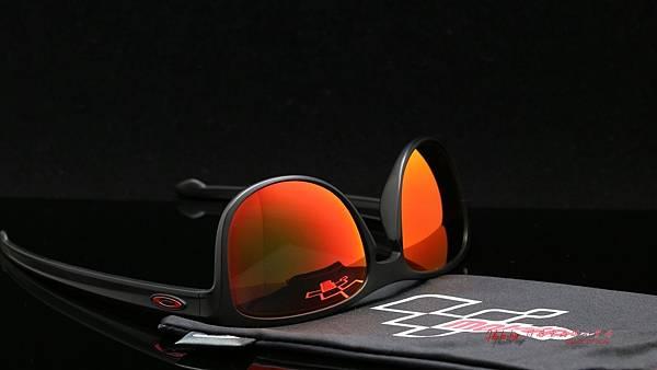 OAKLEY SLIVER ROUND MOTOGP聯名款OO9342-1557太陽眼鏡 &客製化SPORT偏光彩色紅鍍膜鏡片 高雄得恩堂左營店