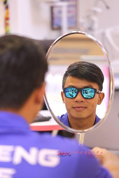 反曲弓射箭國手彭士誠 客製化720armour CRX運動光學太陽眼鏡製作實錄(取鏡篇)
