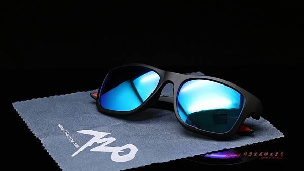 720armour FABIO B372太陽眼鏡 & 客製化SPORT彩色藍鍍膜有度數太陽鏡片