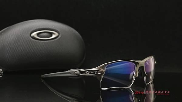 OAKLEY FLAK 2.0 XL & 客製化SPORT極致完美變色藍鍍膜近視有度數運動鏡片