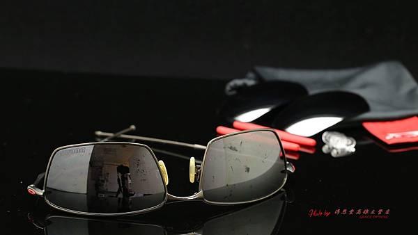 OAKLEY Ducati Polarized Square 鏡片重製、鼻托鏡腳組膠條更換實錄 高雄得恩堂左營店