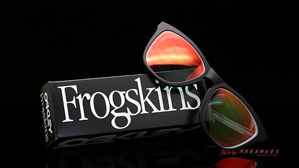 OAKLEY FROGSKINS ASIAN FIT OO9245-06 太陽眼鏡&變色紅鍍膜鏡片