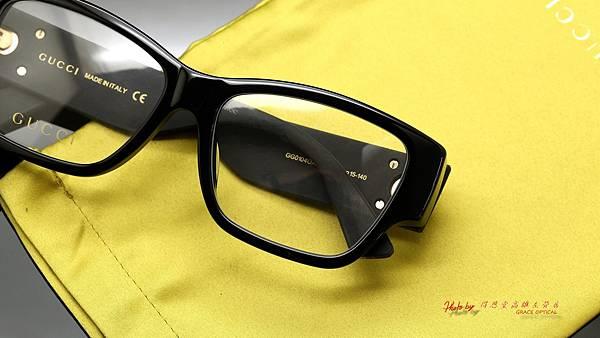 GUCCI Eyewear GG0104OA 001 光學眼鏡