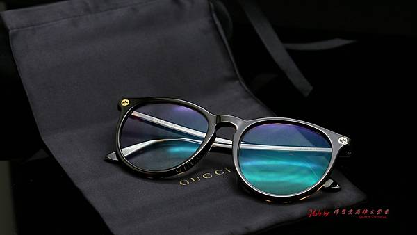 GUCCI Eyewear GG0027OA 002光學眼鏡 & CAESAR FLIP 翻轉前掛