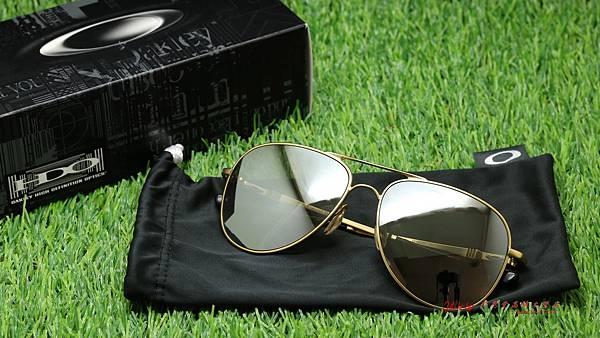 OAKLEY Elmont L OO4119-03 太陽眼鏡 & 白金Revo近視有度數太陽鏡片