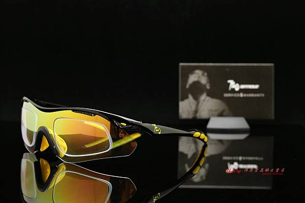 720armour Analog CRX 近視有度數 變色金鍍膜運動型太陽眼鏡