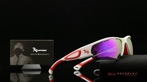 720armour Gulper T466B4 CRX 紫REVO鍍膜偏光近視有度數運動型太陽眼鏡