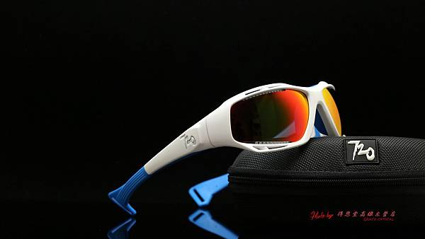 720armour STINGRAY CRX 藍REVO鍍膜偏光近視有度數運動型太陽眼鏡