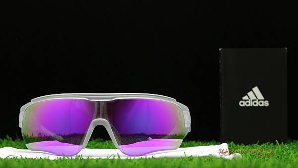 adidas eyewear Zonyk Aero PRO &『超視野』SPORT近視有度數紫鍍膜運動鏡片