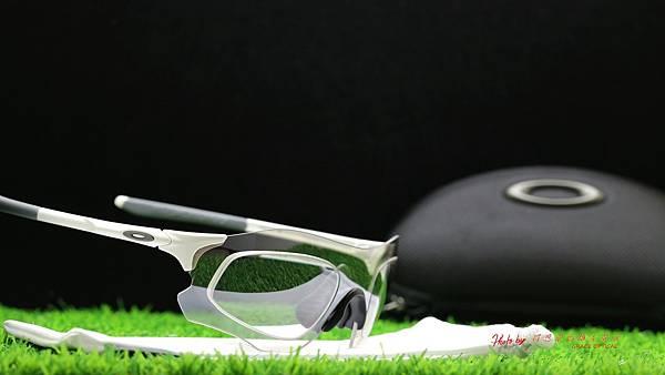 OAKLEY EVZERO PATH 運動型太陽眼鏡 & 客製化SPORT變色白鍍膜運動型鏡片