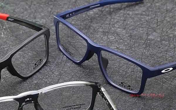 Oakley CHAMFER SQUARED(TRUBRIDGE) MNP OX8143 光學近視眼鏡 高雄得恩堂左營店