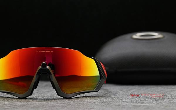 OAKLEY FLIGHT JACKET Prizm Ruby Polarized OO9401-0837 偏光款 運動型太陽眼鏡 高雄得恩堂左營店 專業銷售店
