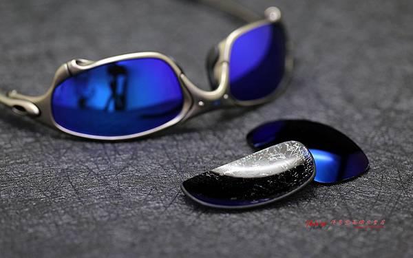 OAKLEY X METAL Juliet 偏光藍鍍膜鏡片重製實錄