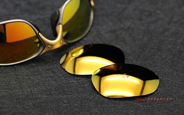 OAKLEY X METAL XX 24k Gold Iridium 鏡片重製實錄 高雄得恩堂左營店 專業銷售店