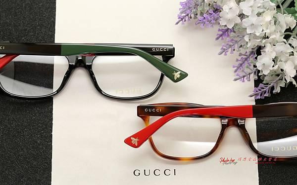 GUCCI Eyewear GG0162OA 光學眼鏡 高雄得恩堂左營店