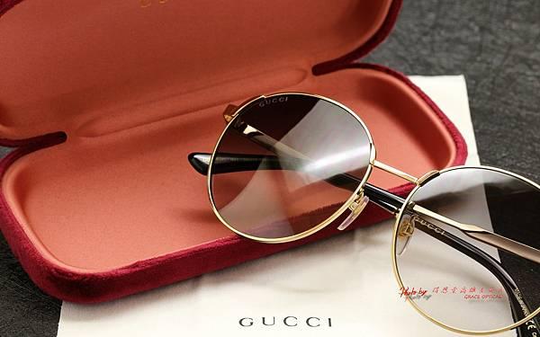 GUCCI Sunglass GG0206SK 太陽眼鏡 高雄得恩堂左營店