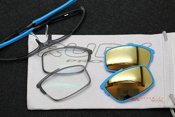Rudy Project Vulcan 運動型光學眼鏡 & 法國依視路鏡片、藍Revo太陽鏡片 高雄得恩堂左營店 專業銷售店
