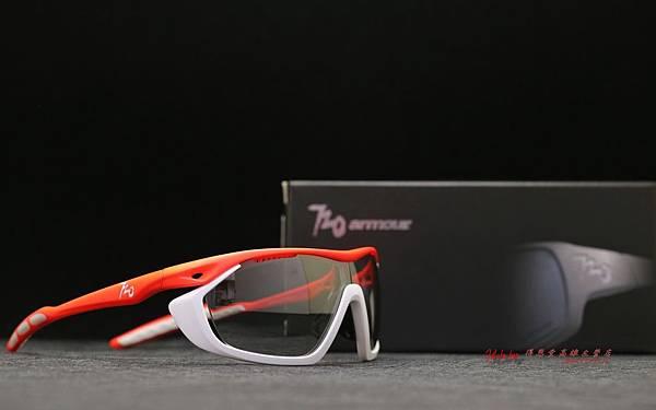 720armour Analog PRO CRX近視光學 變色白Revo運動太陽眼鏡