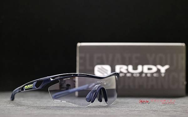 Rudy Project Tralyx 海軍藍 Impactx2 blacker變色款運動型太陽眼鏡