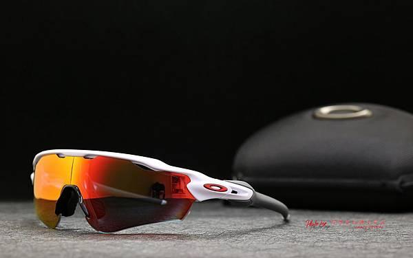 OAKLEY RADAR EV PATH 運動型太陽眼鏡 & 客製化SPORT全視野彩色紅鍍膜運動光學鏡片 高雄得恩堂左營店